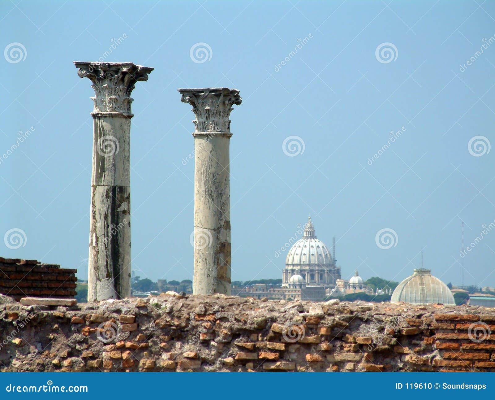 Palantine Pfosten und Vatican