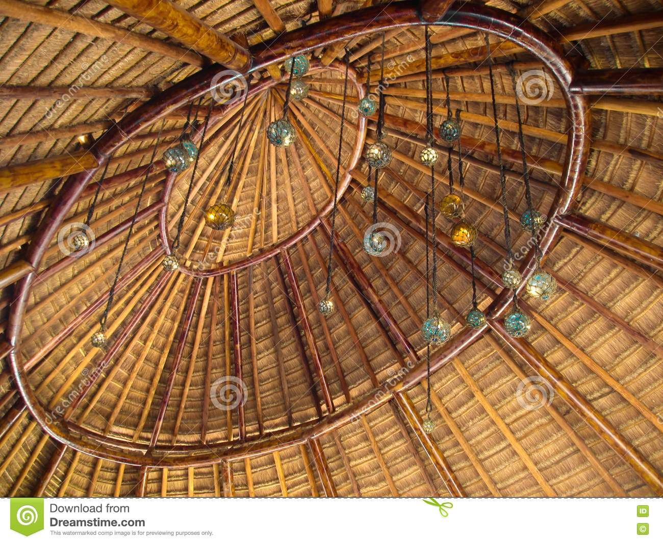 Palapa roof royalty free stock photo image 22558455 for Does new roof affect appraisal
