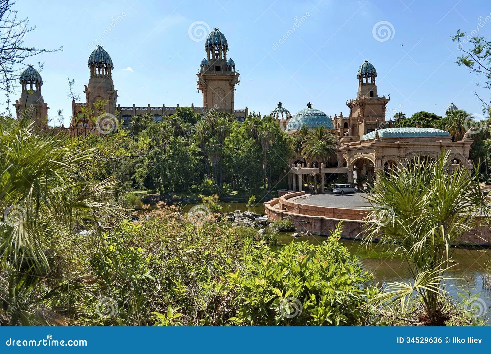 Palast des verlorenen Stadthotels in Sun City