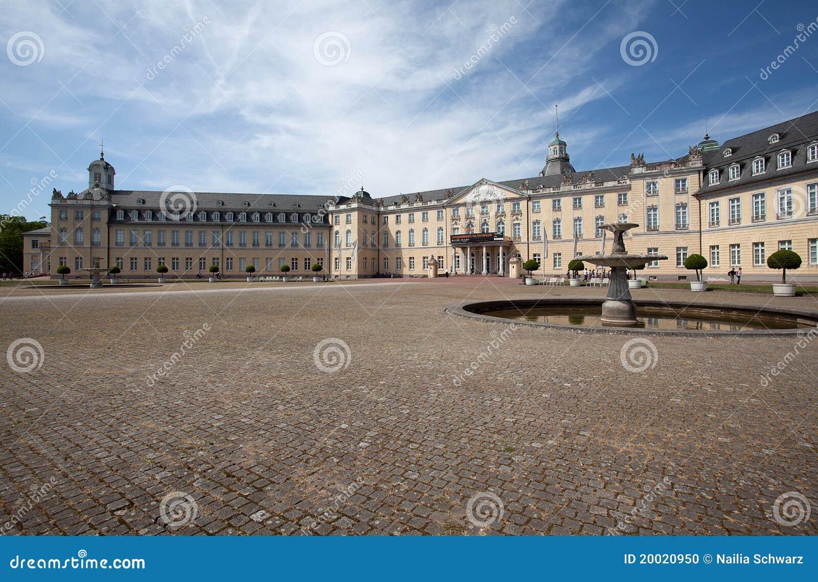 Palast in Karlsruhe Deutschland