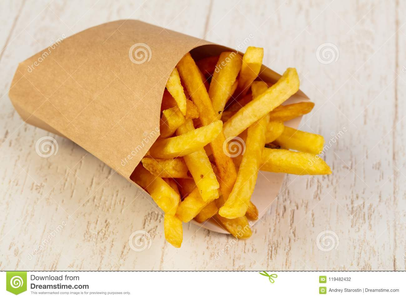 Palatable french fries