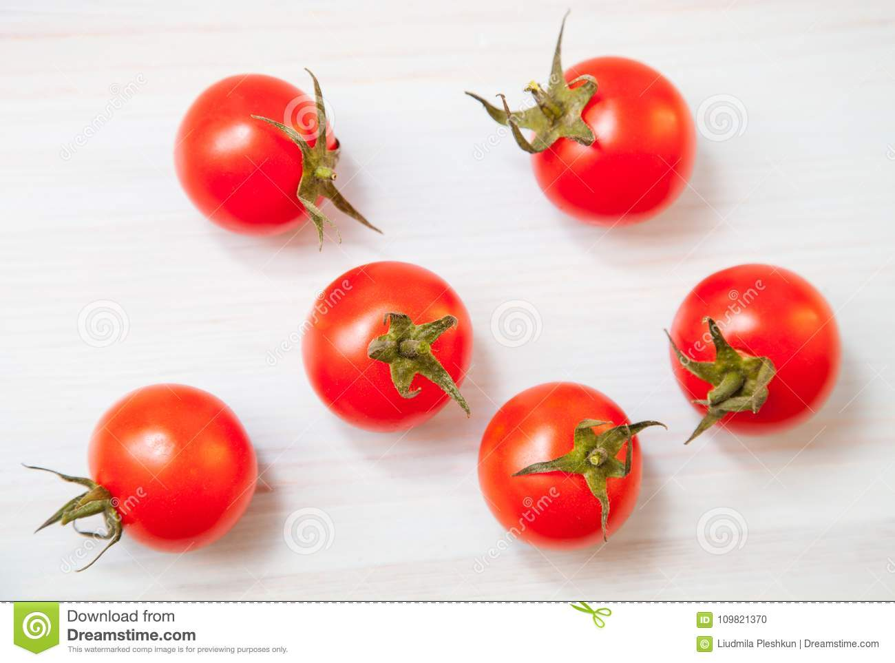 Palatable fresh tomatos