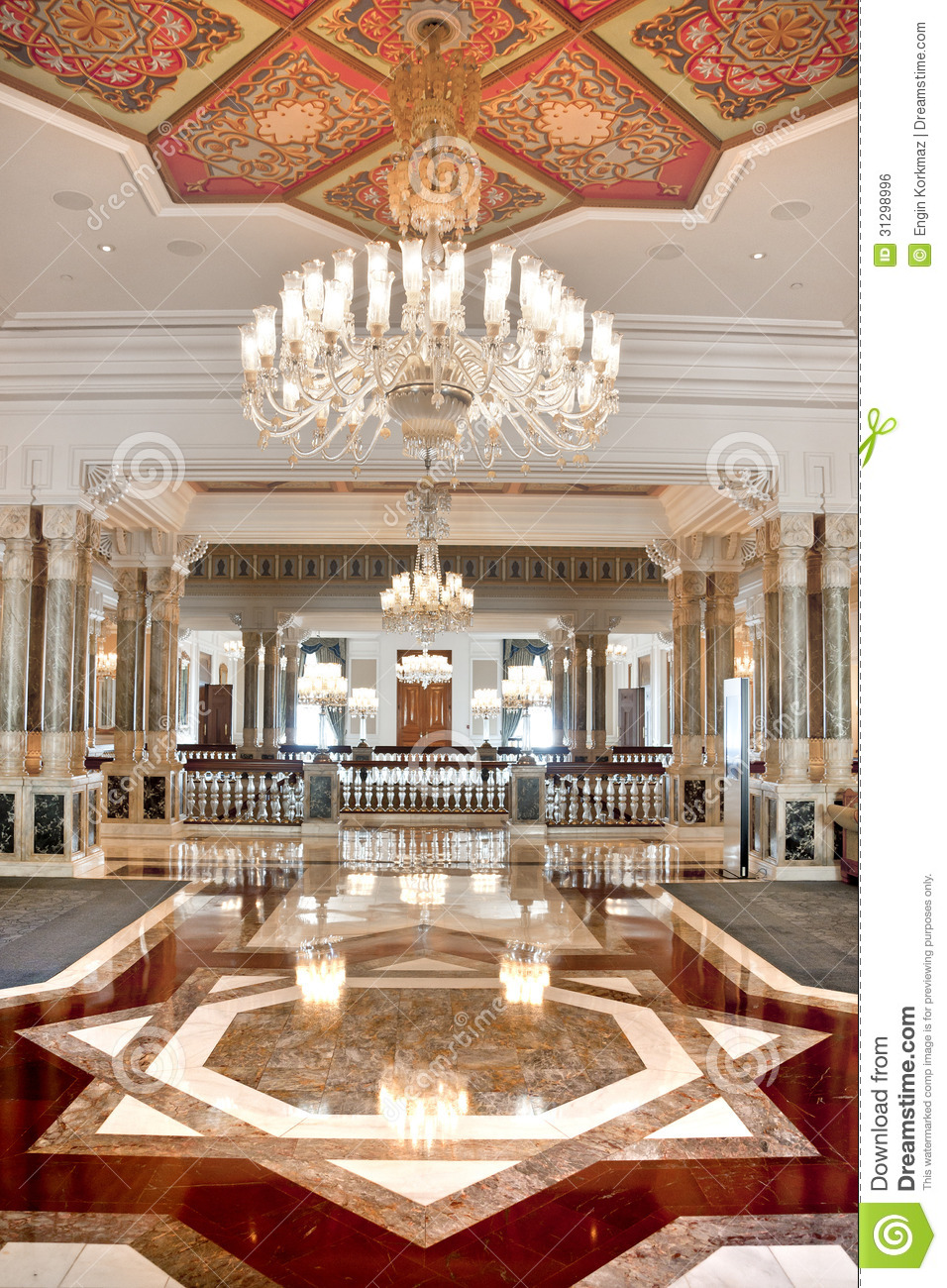 Palatial Interior Stock Photo Image Of East Beautiful