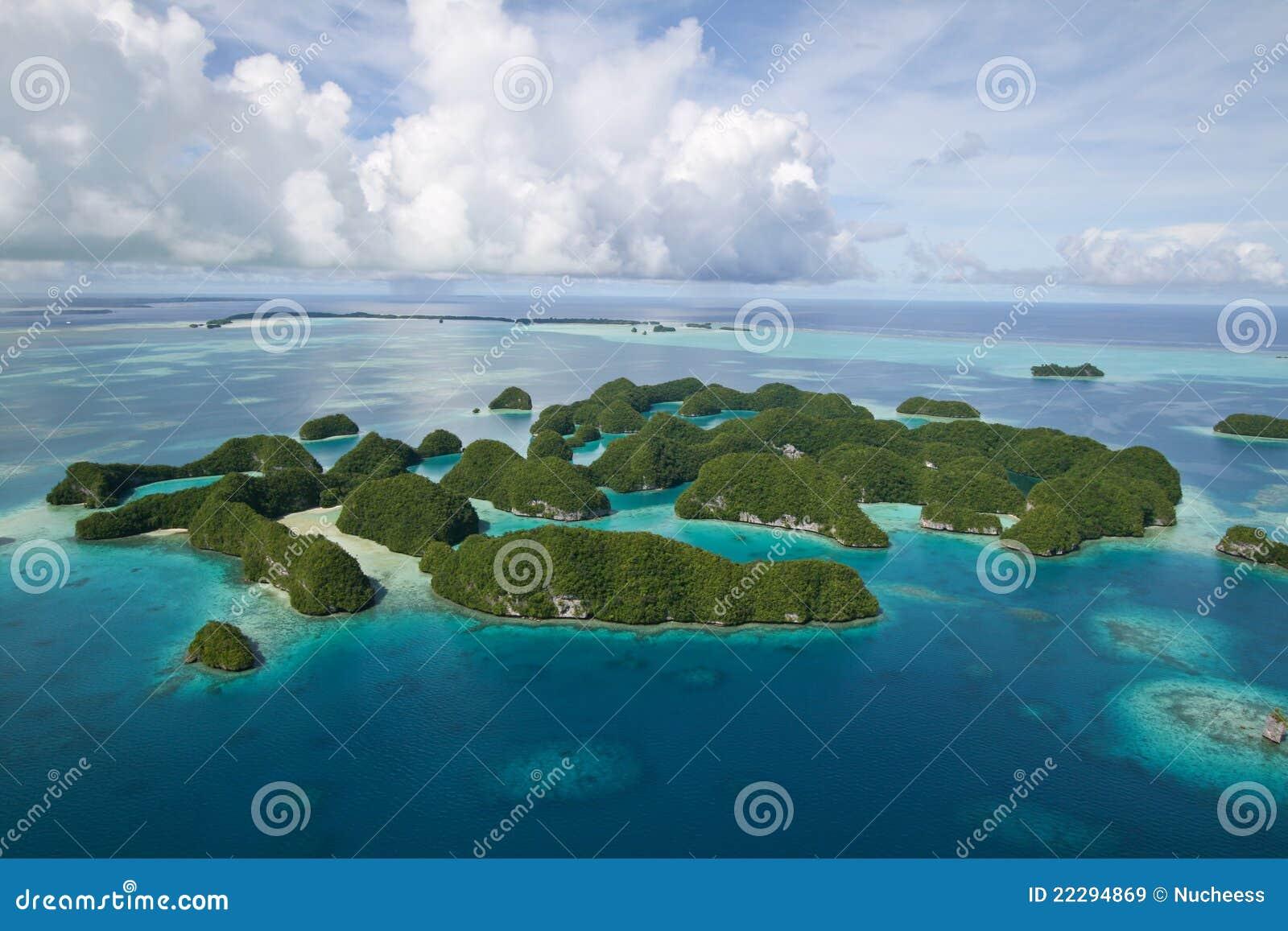 Palau övre sikt