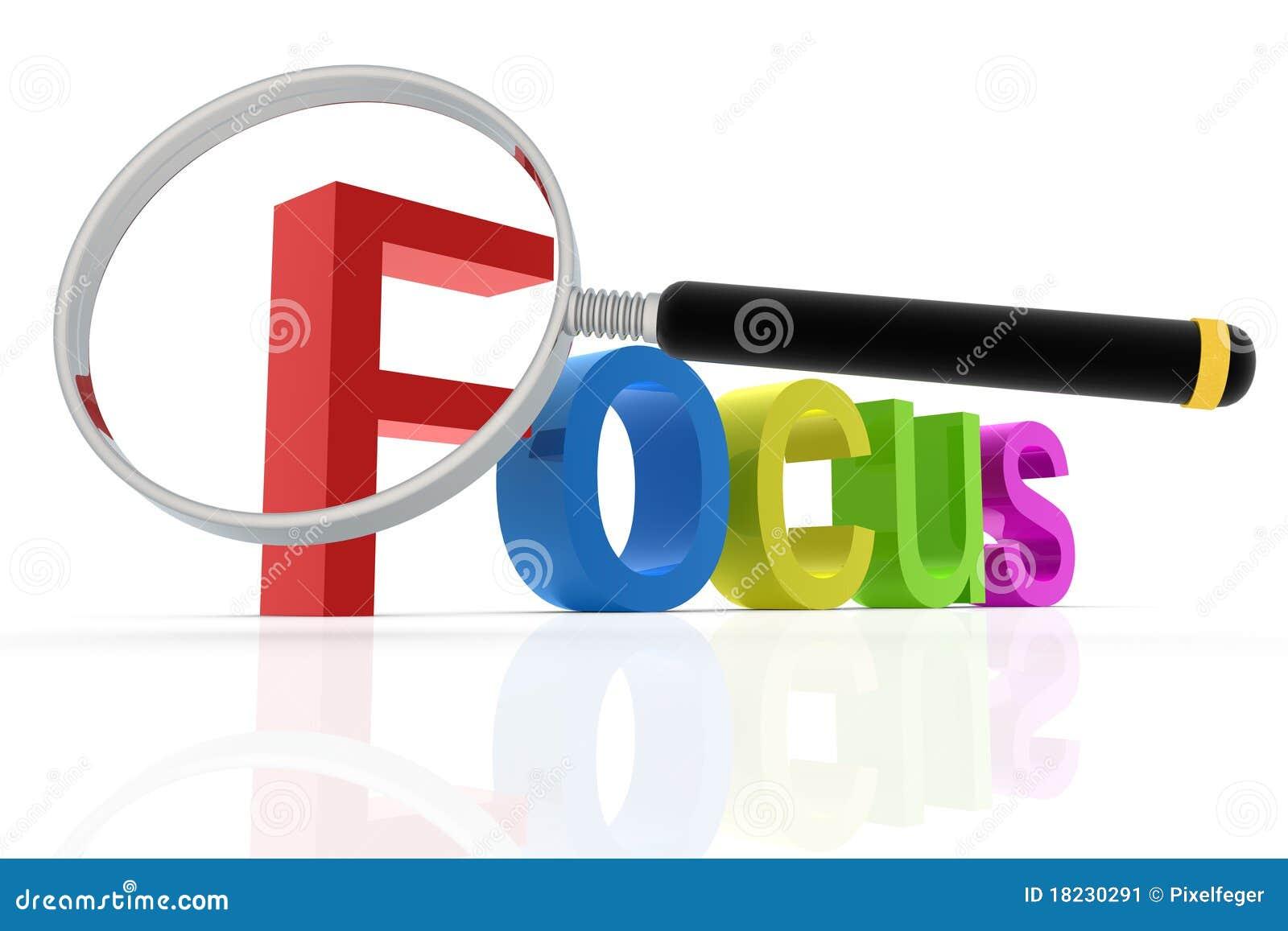 Palavra do foco