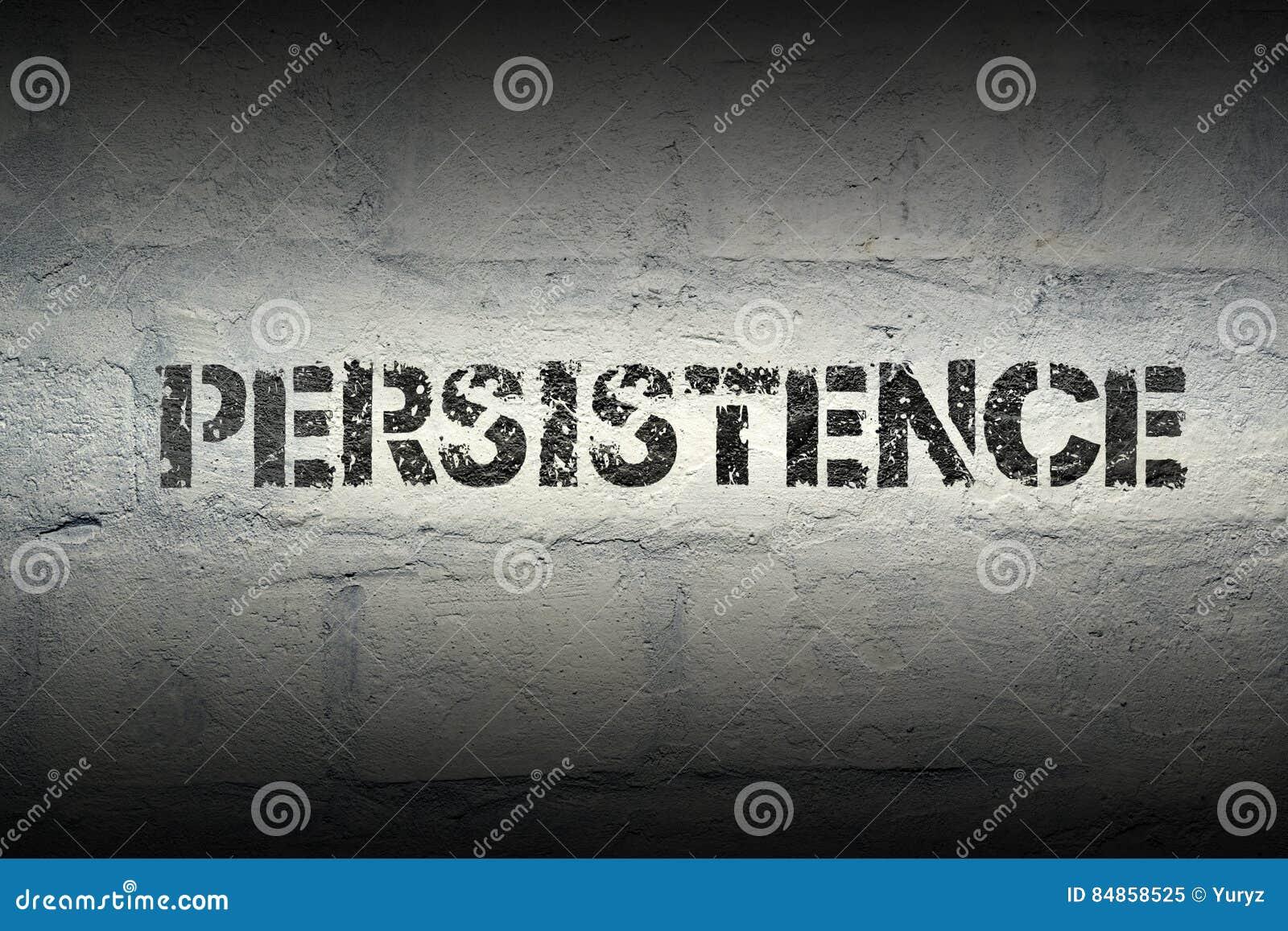 PALAVRA GR da persistência