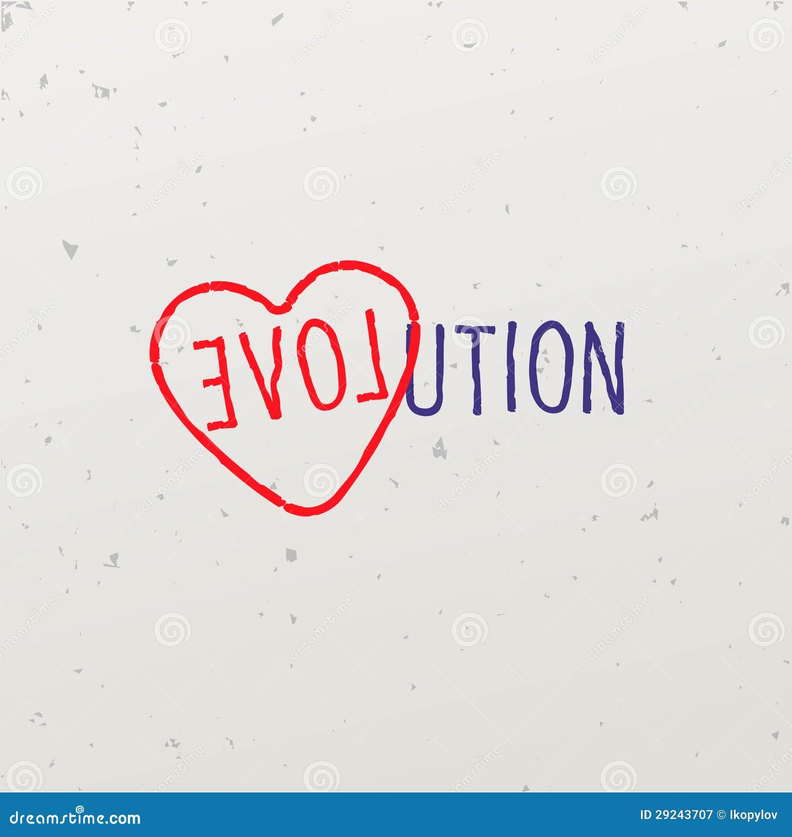 Download Palavra-jogo Com A Evolução Da Palavra Ilustração do Vetor - Ilustração de decor, curvatura: 29243707
