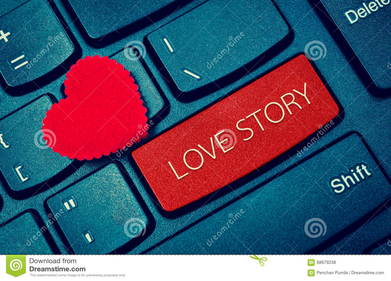 Palavra LOVE STORY