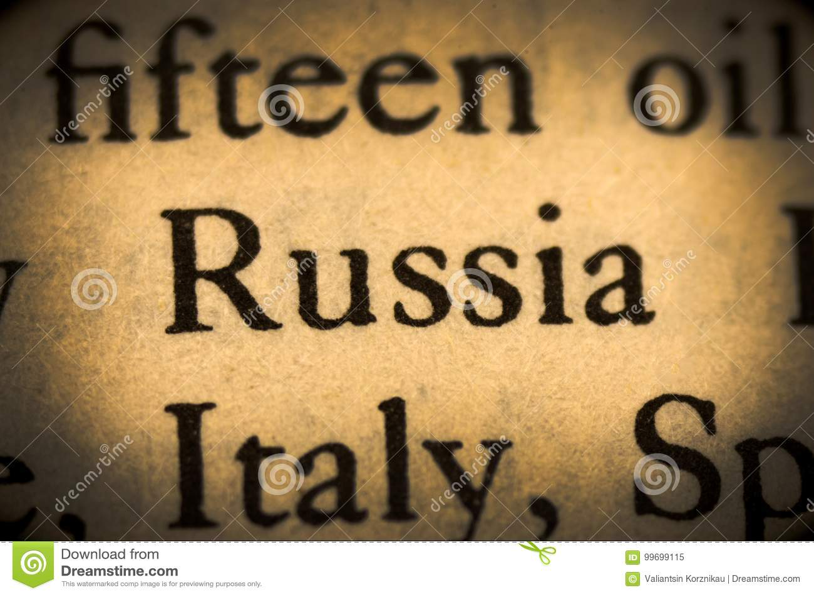 Palavra Rússia
