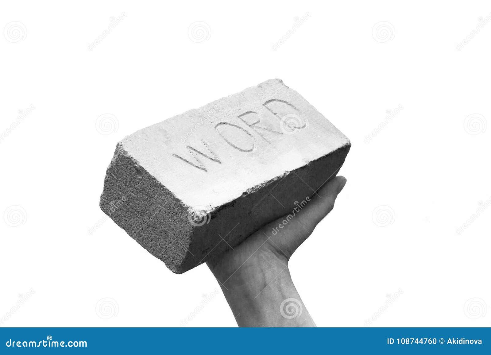 A palavra tem o peso ou mantém sua palavra ou mantém sua promessa