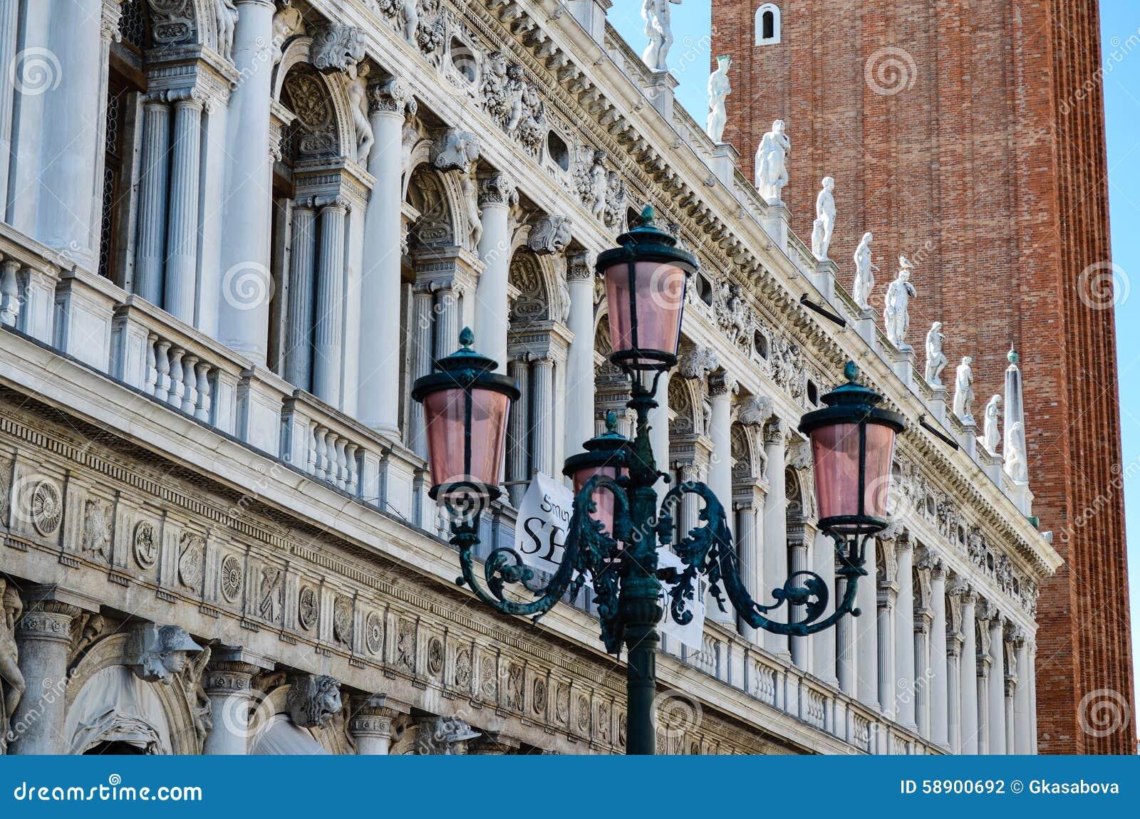Palazzo Дукале в Венеции, Италии