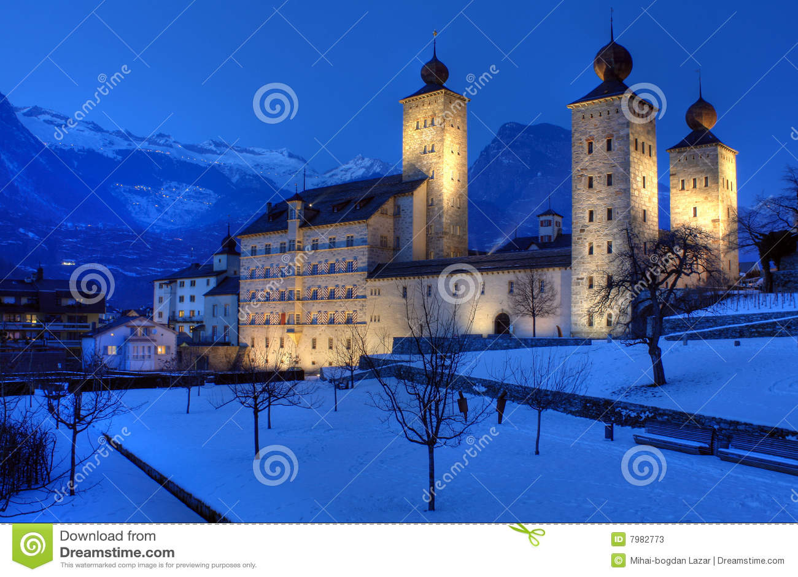 Palazzo 01, brigantino, Svizzera di Stockalper