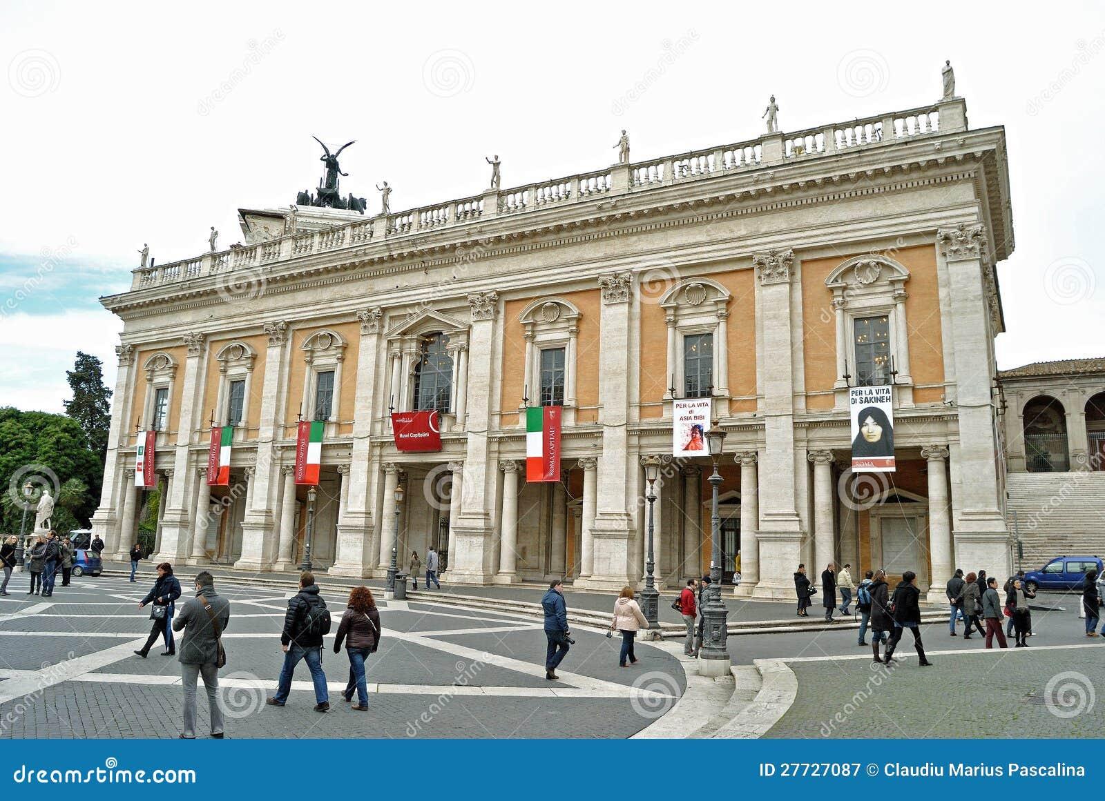 Palazzo dei Conservatori in Rom, Italien
