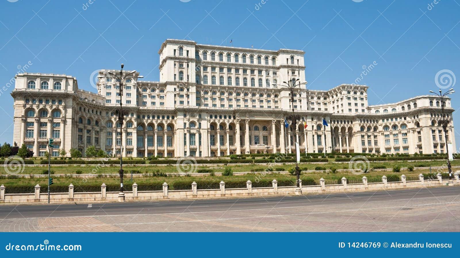 Palazzo del parlamento bucarest romania immagine stock for Immagini del parlamento