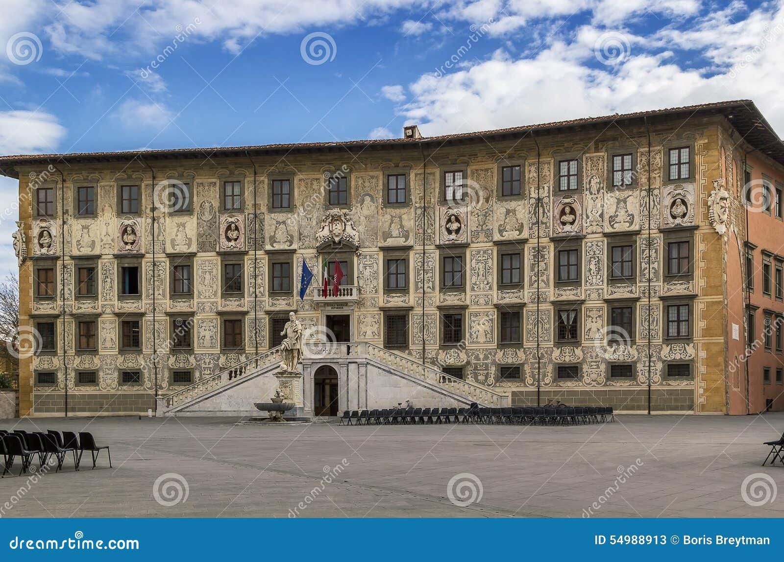 Palazzo della Carovana, Pisa, Italien