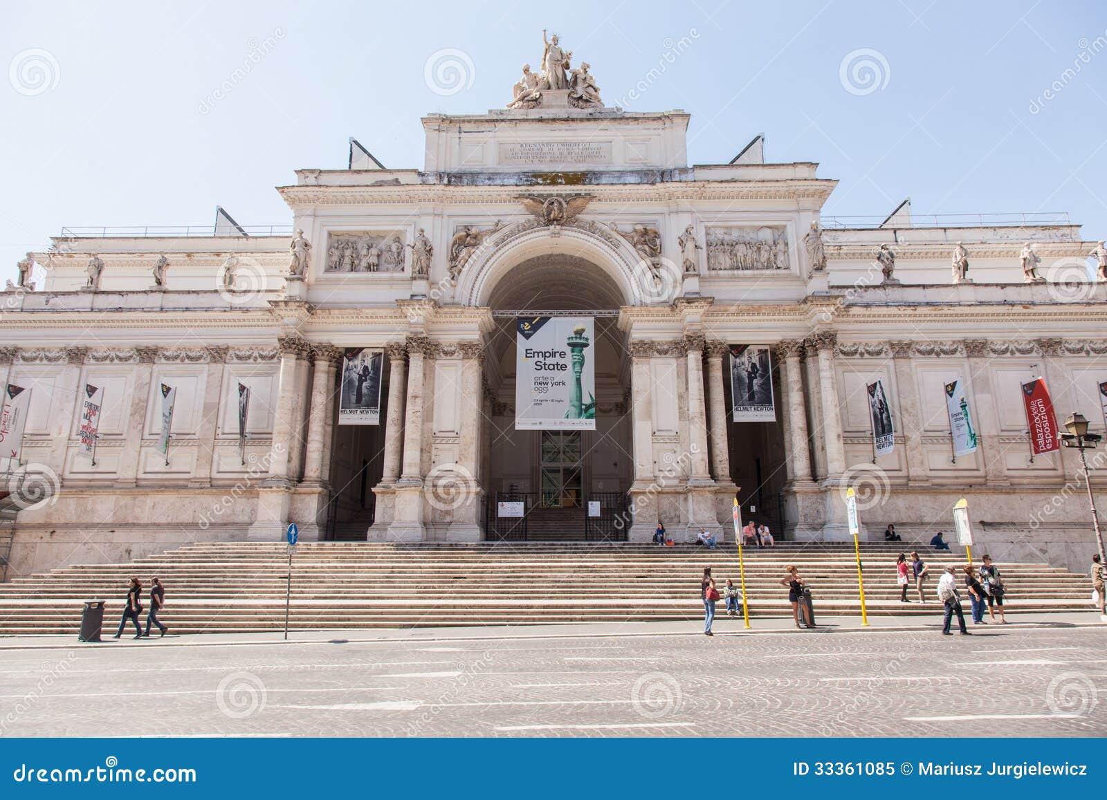 Palazzo delle esposizioni editorial image image 33361085 for Palazzo delle esposizioni rome italy