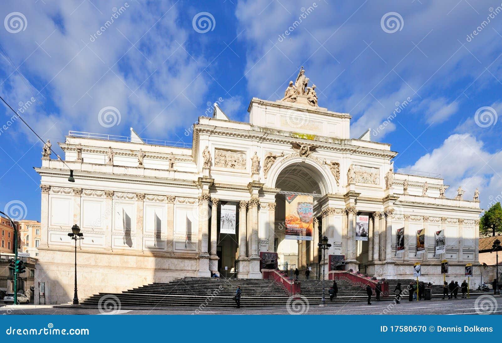 Palazzo delle esposizioni rome editorial image image for Palazzo delle esposizioni rome italy