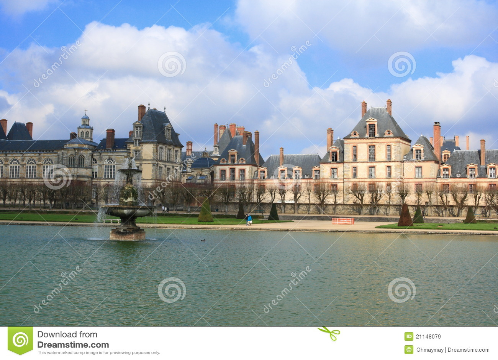 Palazzo di Fontainebleau e del lago, Francia