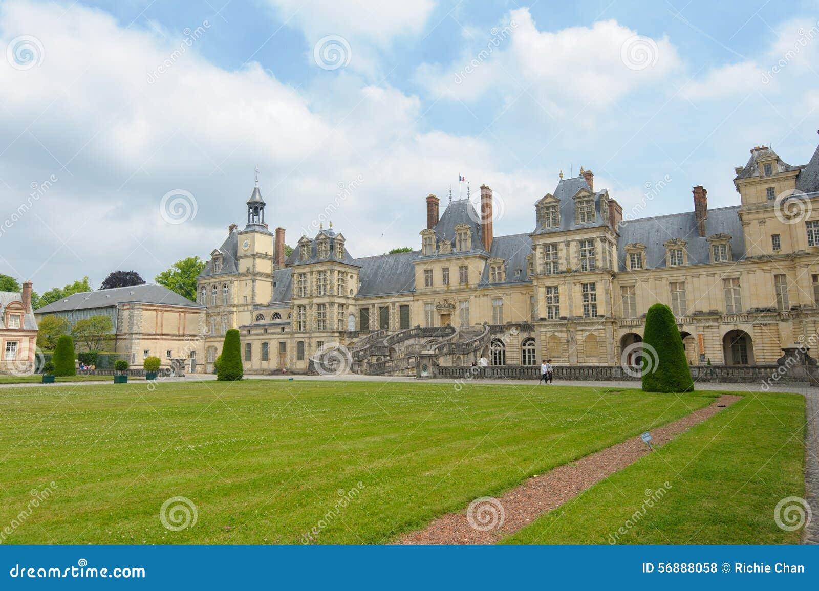 Palazzo di Fontainebleau in Francia