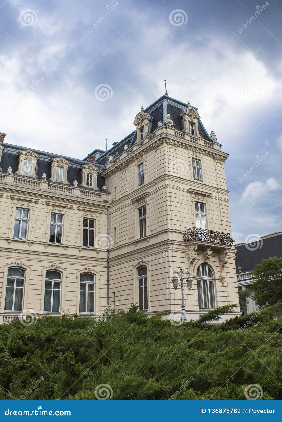 Palazzo di Potocki a Lviv baroque