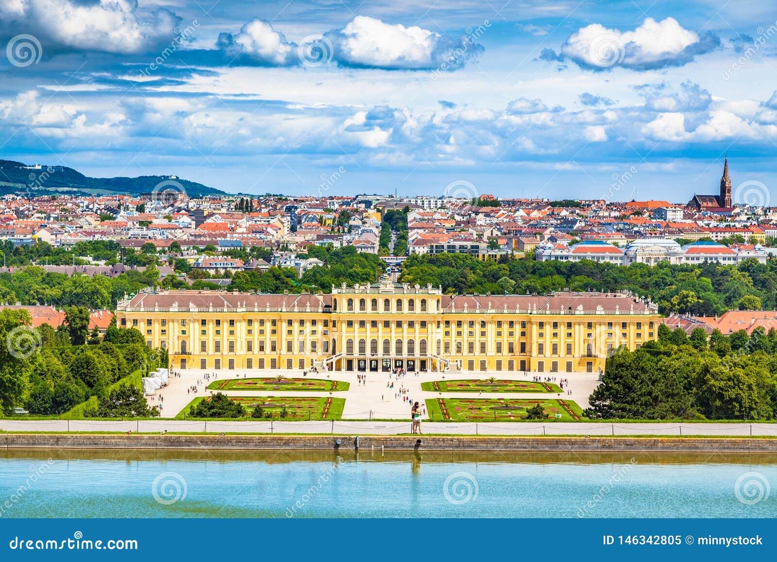 Palazzo di Schonbrunn, Vienna, Austria