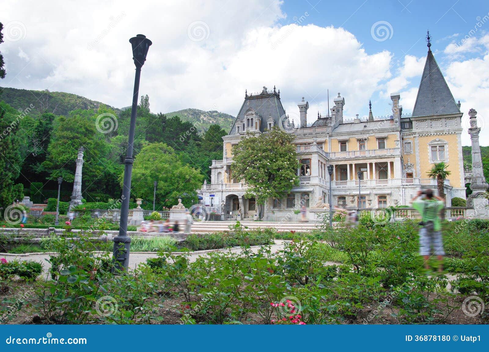 Download Palazzo di Vorontsov fotografia stock. Immagine di architettura - 36878180