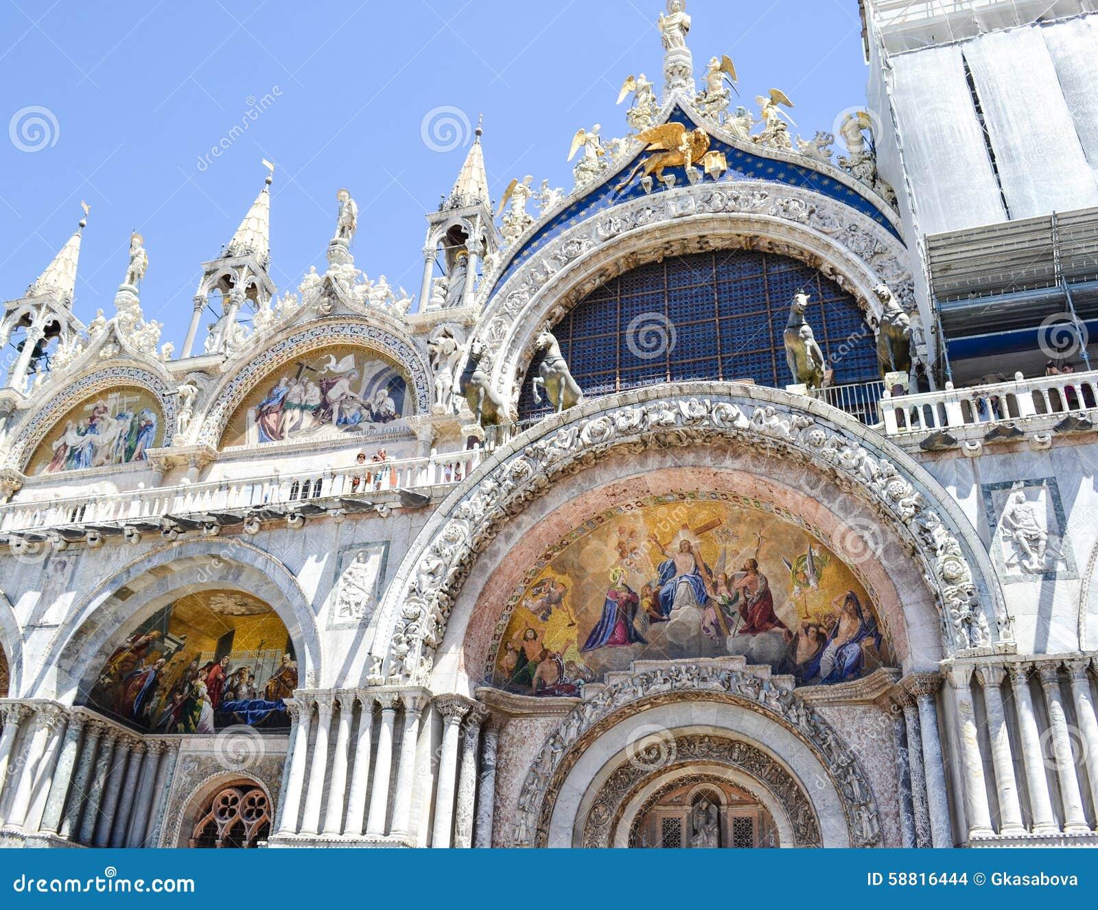 Palazzo Ducale à Venise, Italie