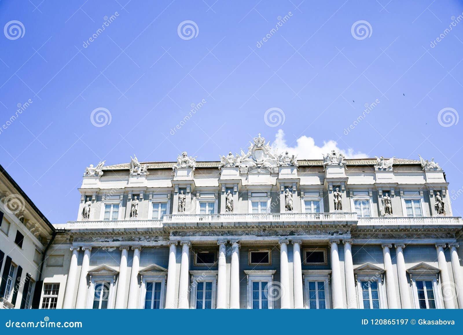 Palazzo Ducale in Genua, Italië