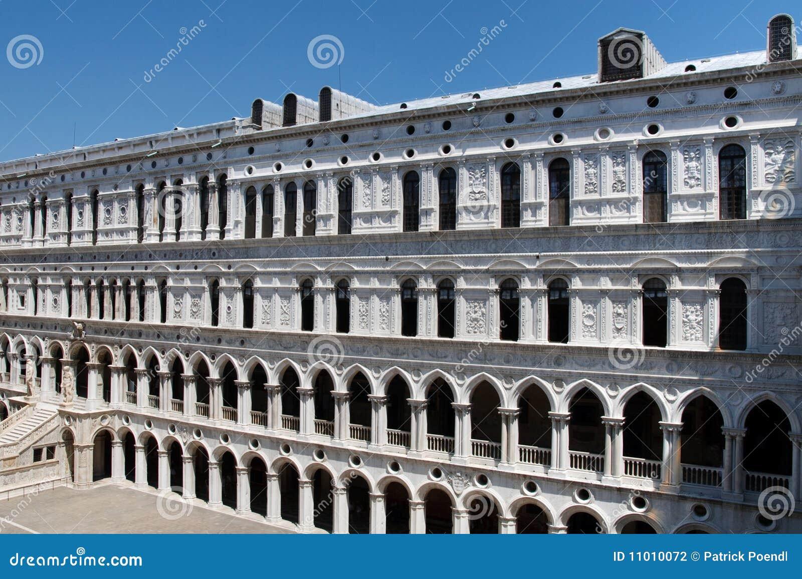 Palazzo Ducale (het Paleis van Doges), Venetië, Italië