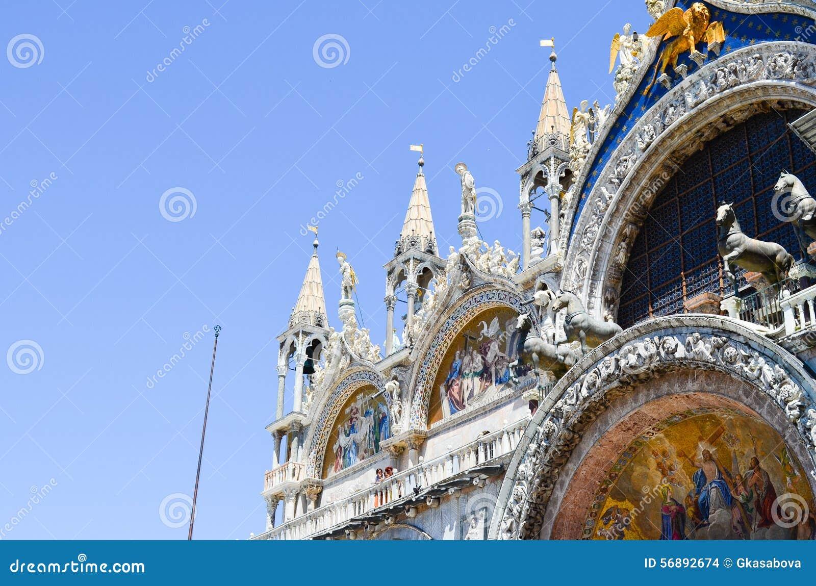 Palazzo Ducale in Venetië, Italië