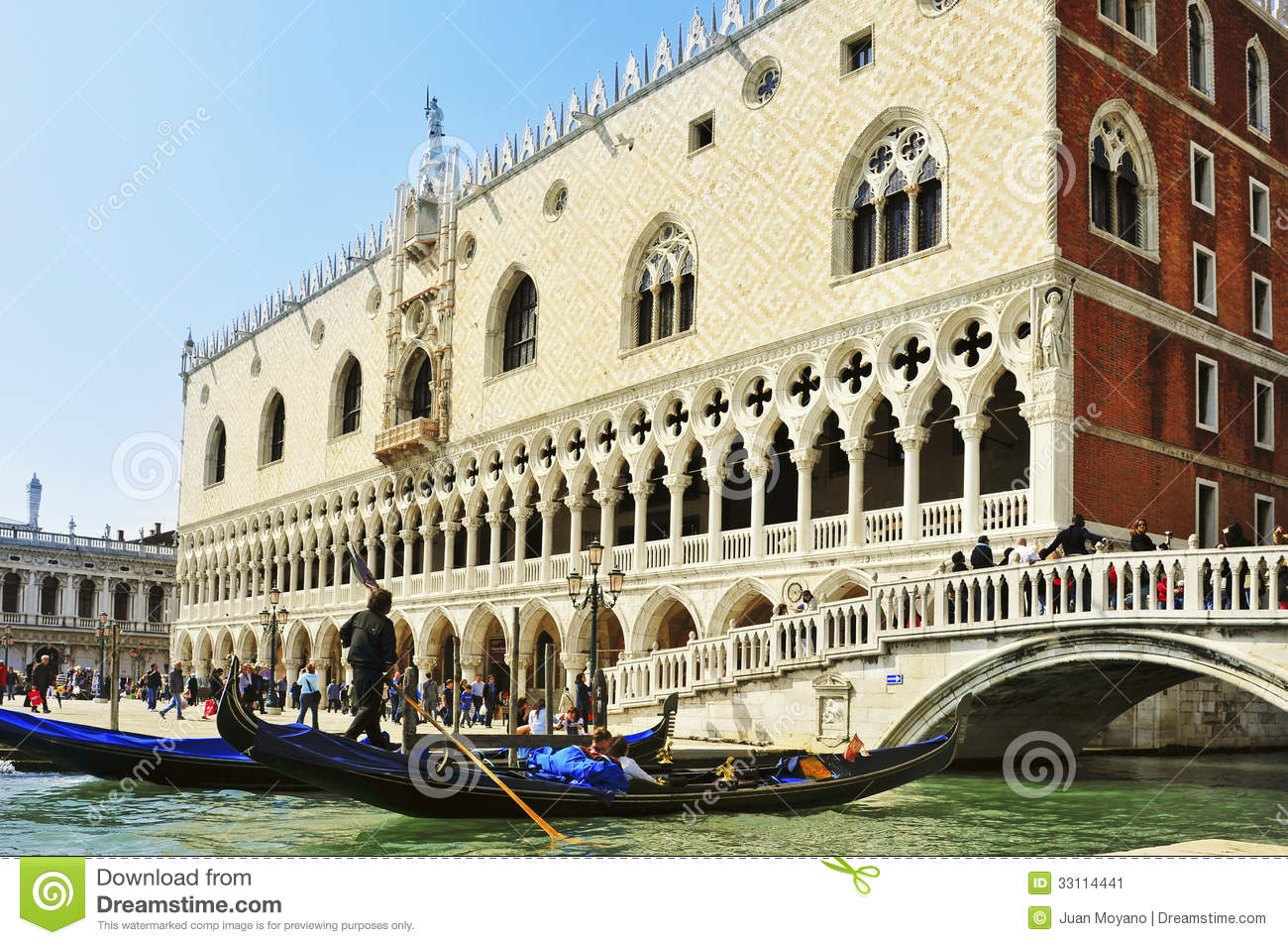 Palazzo Ducale in Venice, Italy
