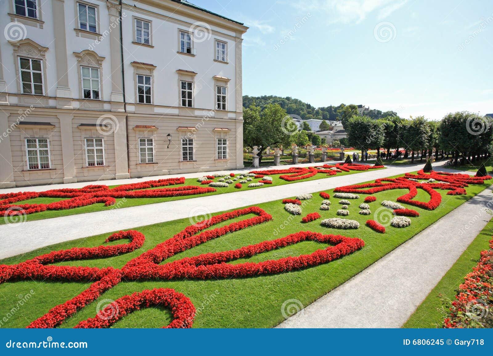 Palazzo e giardino di mirabell a salisburgo immagine stock immagine di giardini citt 6806245 - I giardini di palazzo rucellai ...