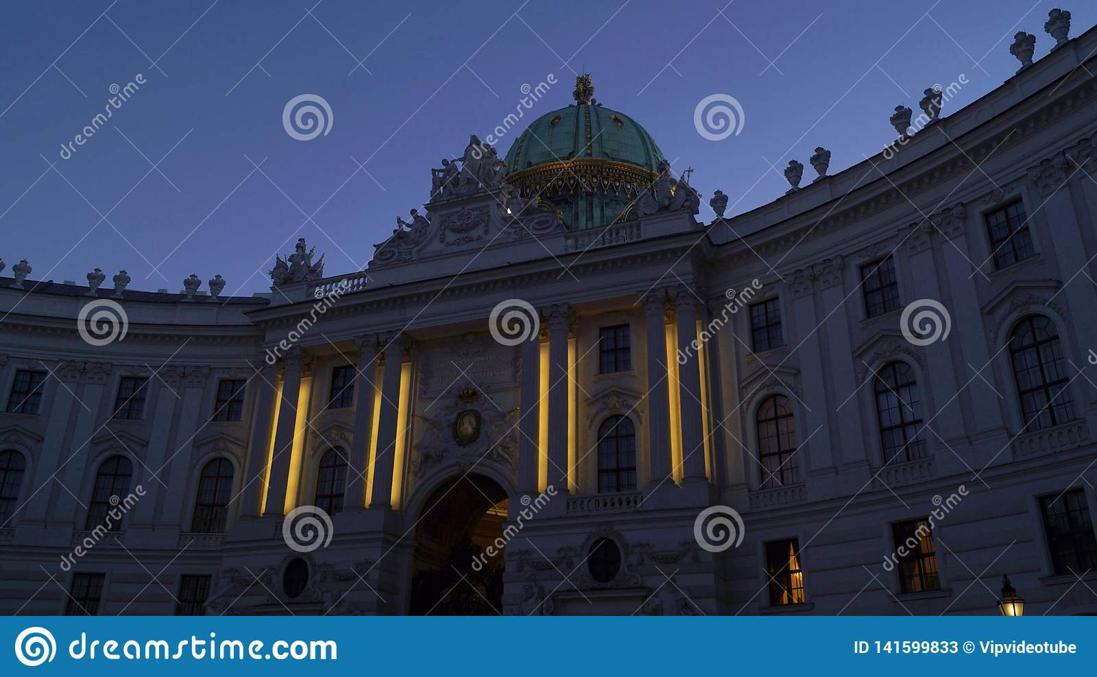 Palazzo imperiale Hofburg a Vienna