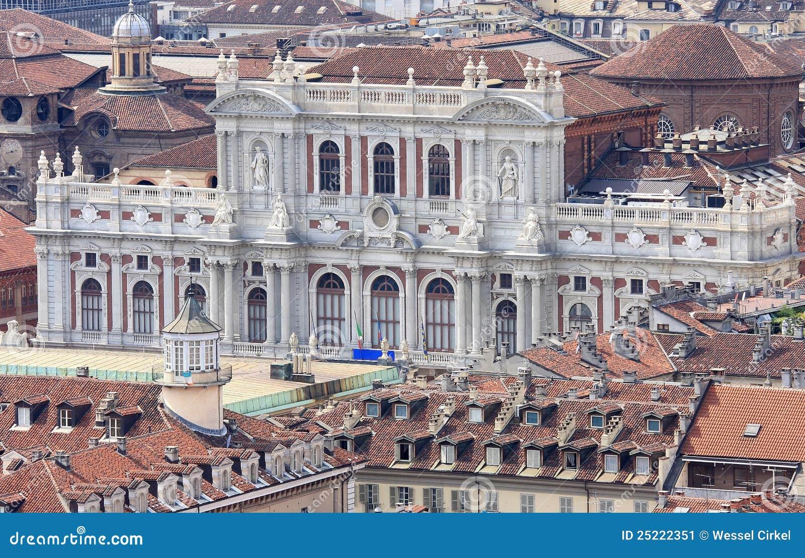 Palazzo italiano Carignano a Torino, valle di Aosta