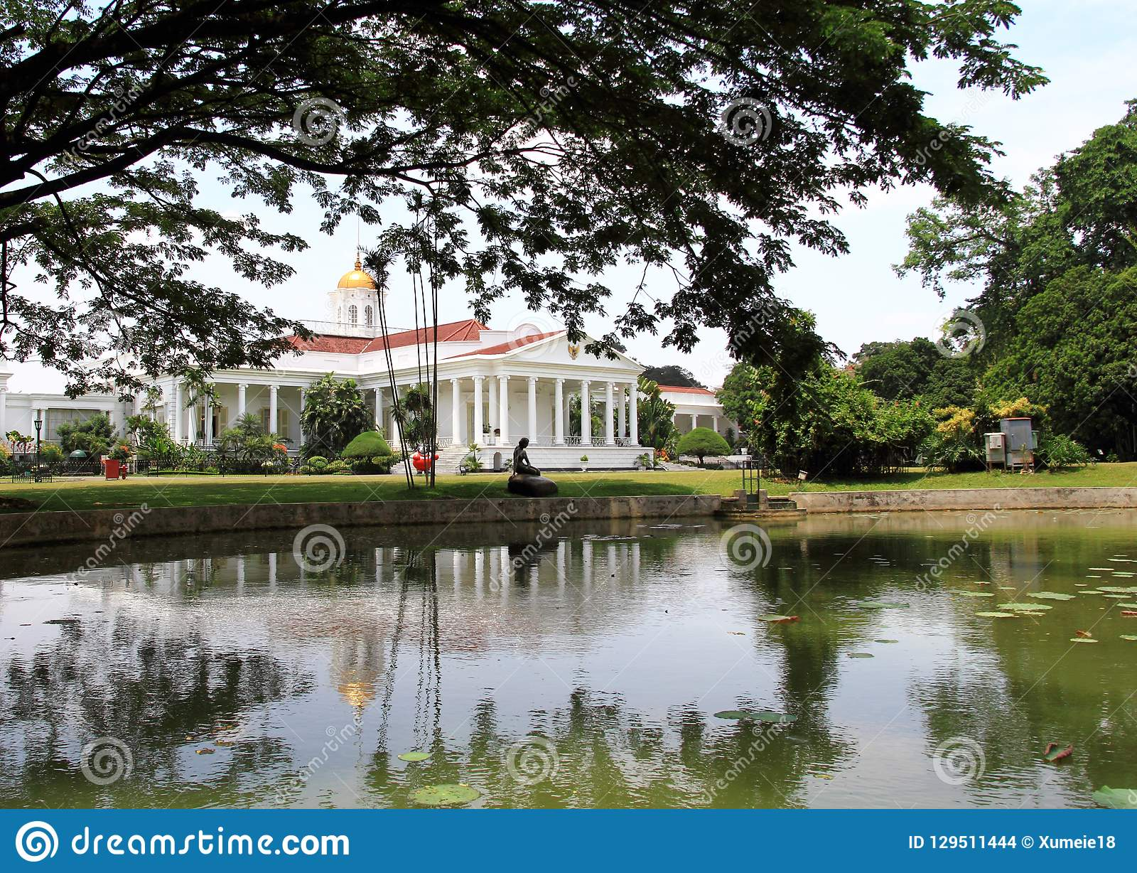 Palazzo presidenziale in Bogor, Indonesia