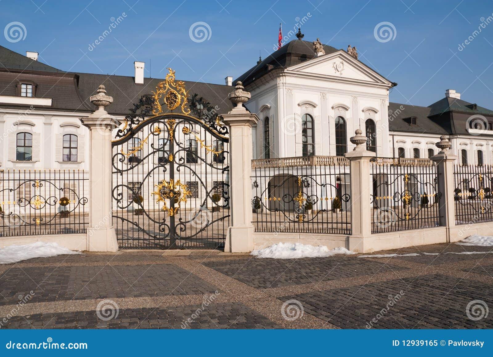 Palazzo presidenziale del grassalkovich