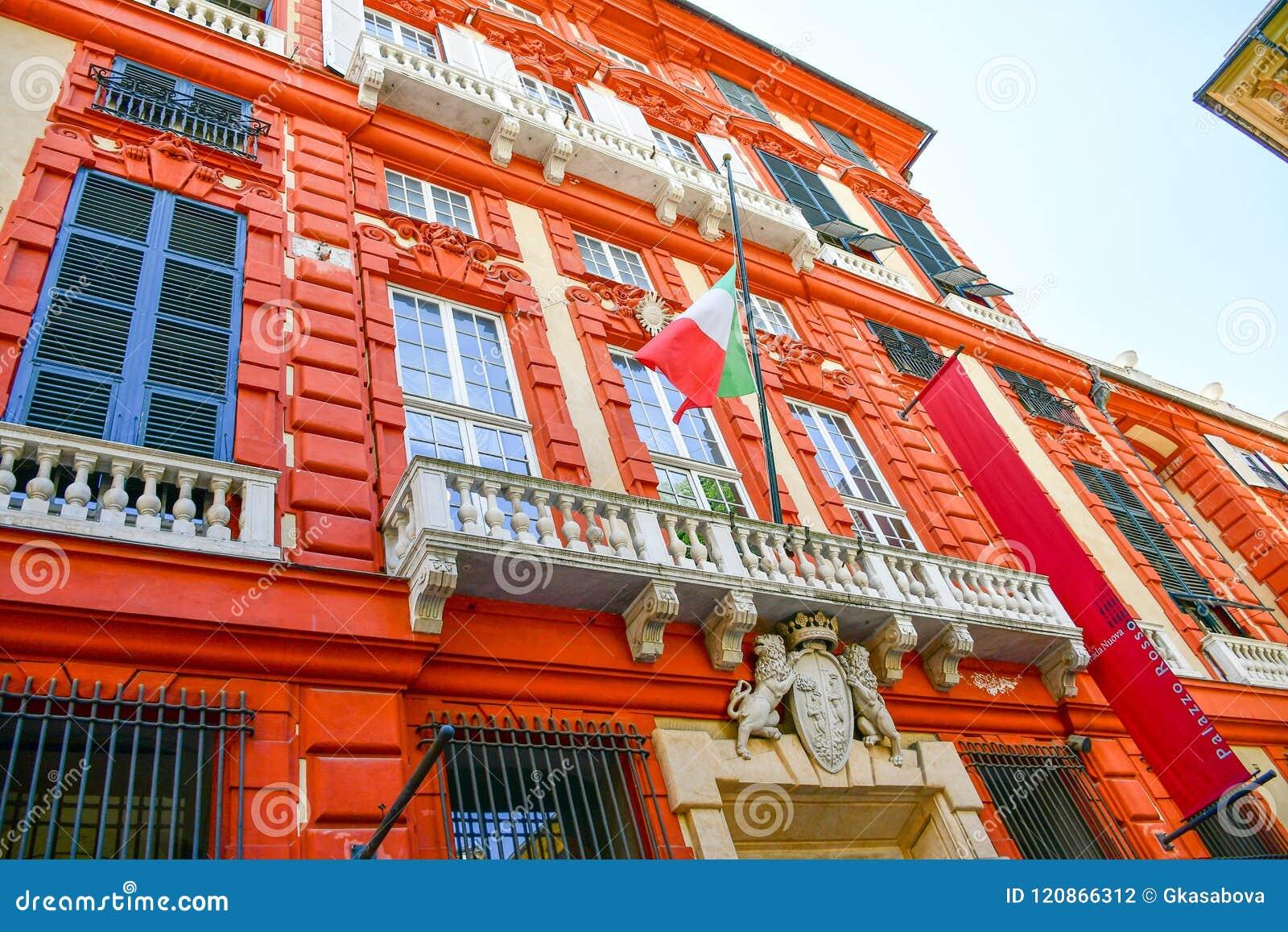 Palazzo Rosso, Genova, Italia
