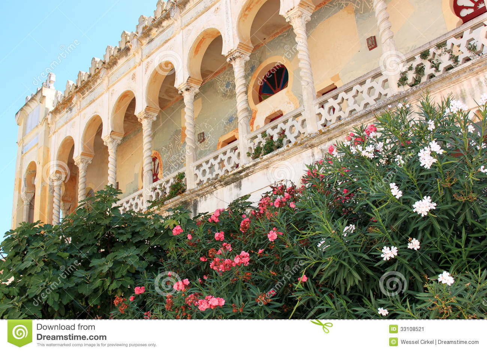 Santa Cesarea Terme Italy  city images : Palazzo Sticchi, Santa Cesarea Terme, Puglia, Italy Stock Image ...