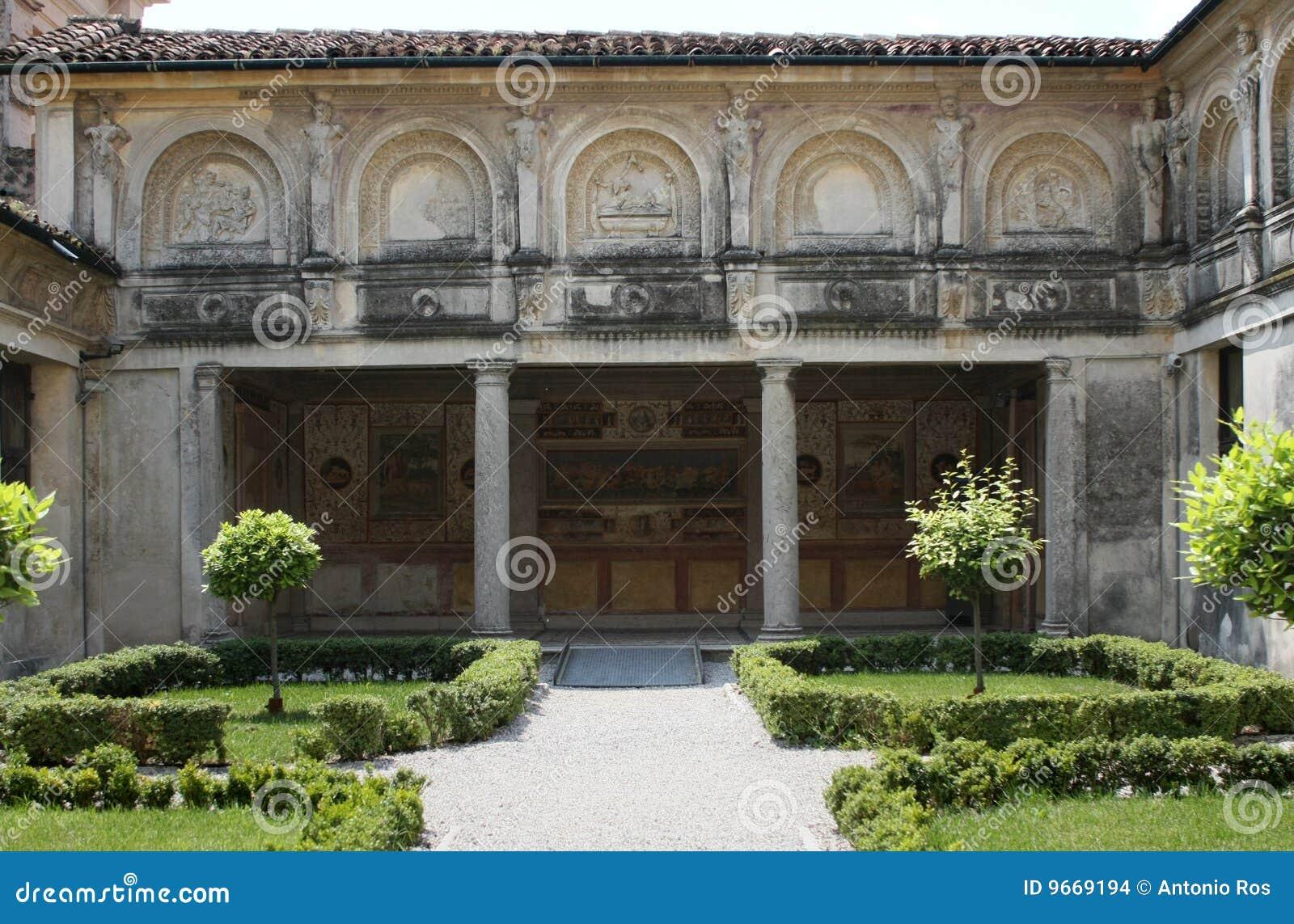 Palazzo te mantova italia il giardino segreto - Giardino del te ...