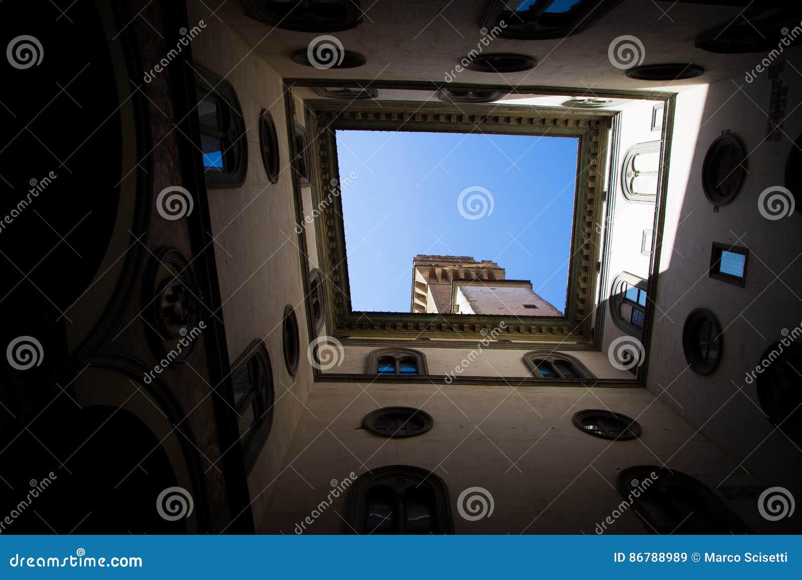 Palazzo Vecchio em Florença, Italy