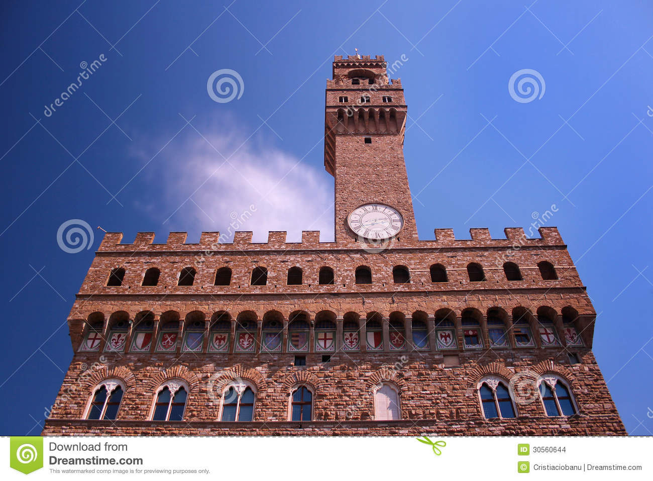 palazzo vecchio old palacein florence italy stock photo image of