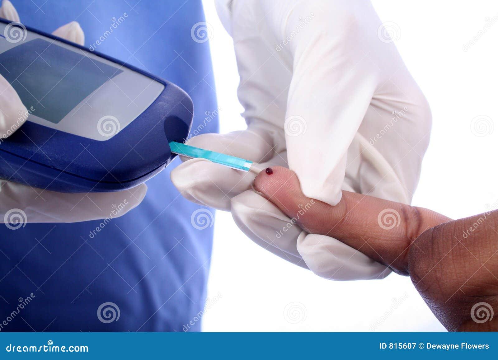 Palców cukrzyka pielęgniarki patyk