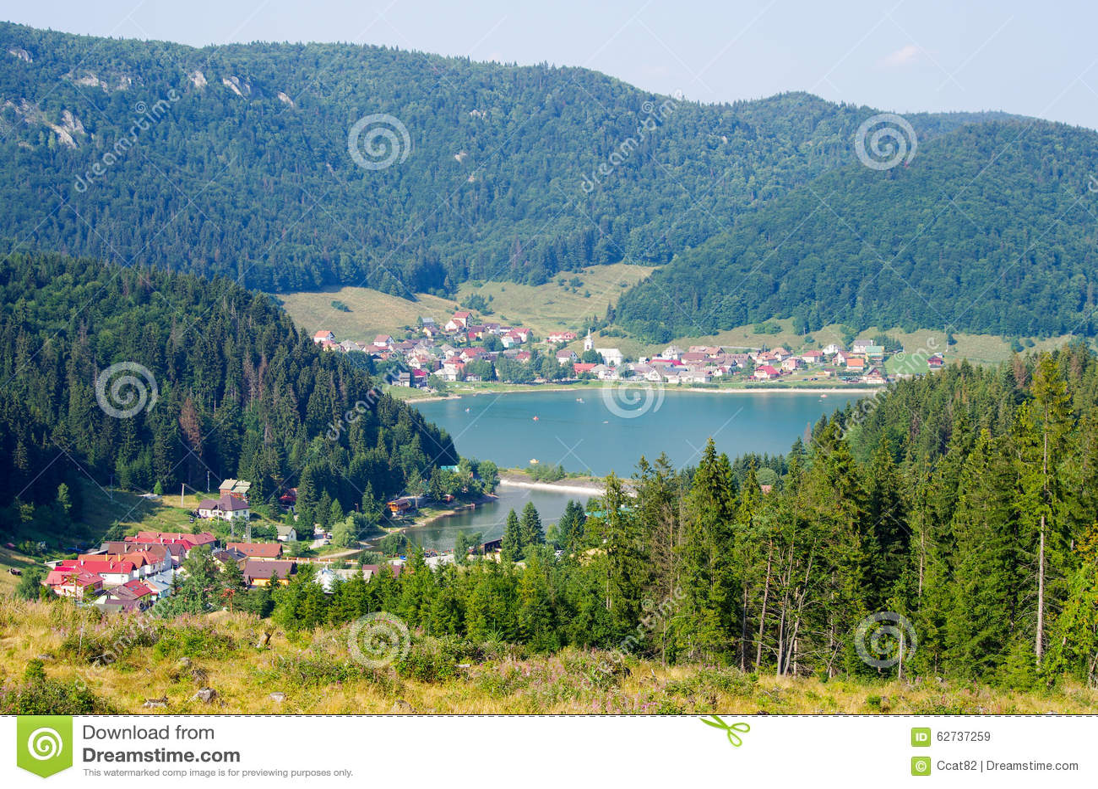 Palcmanska Masa lake in Slovak Paradise