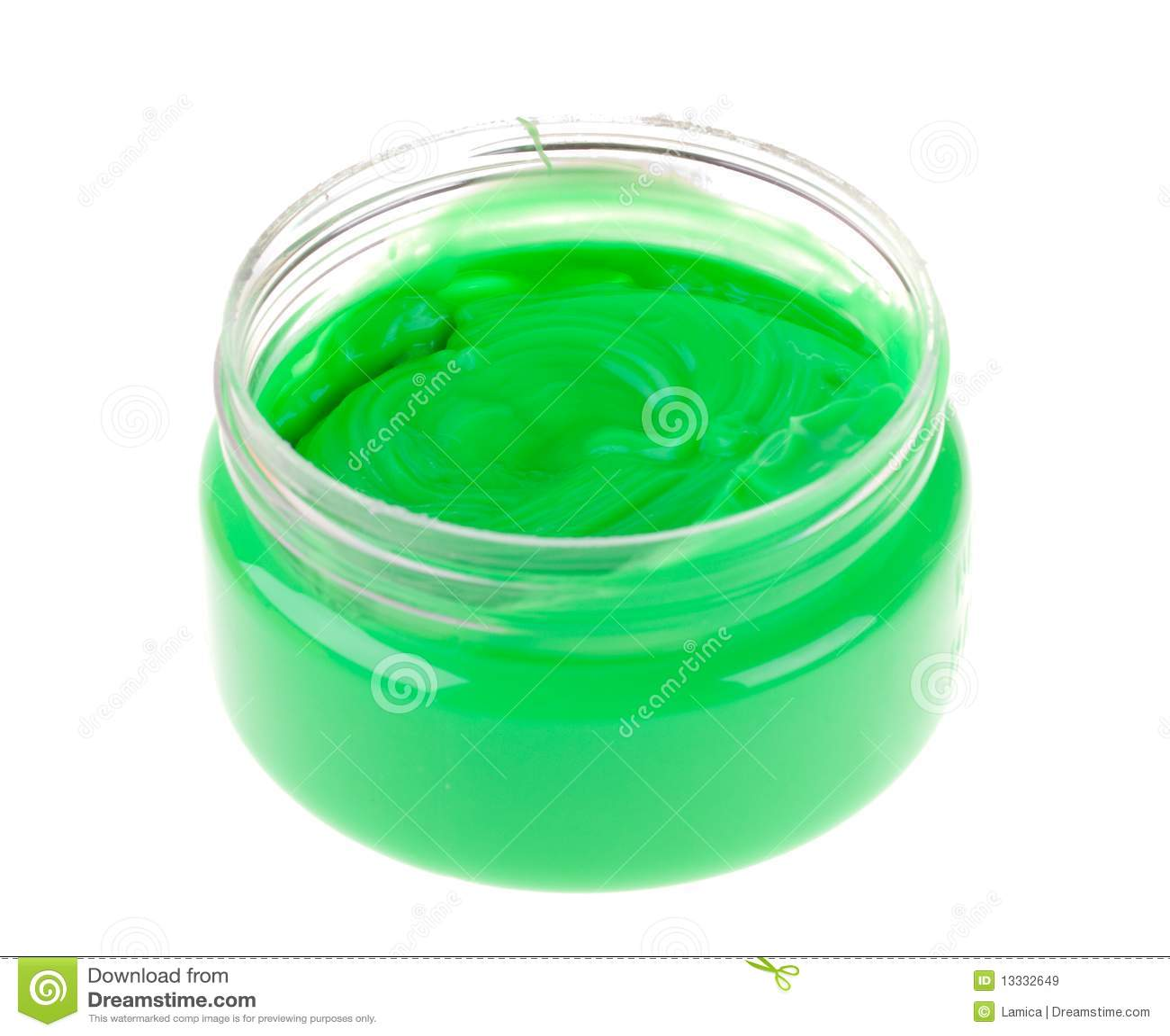 Palcowa zielona farba