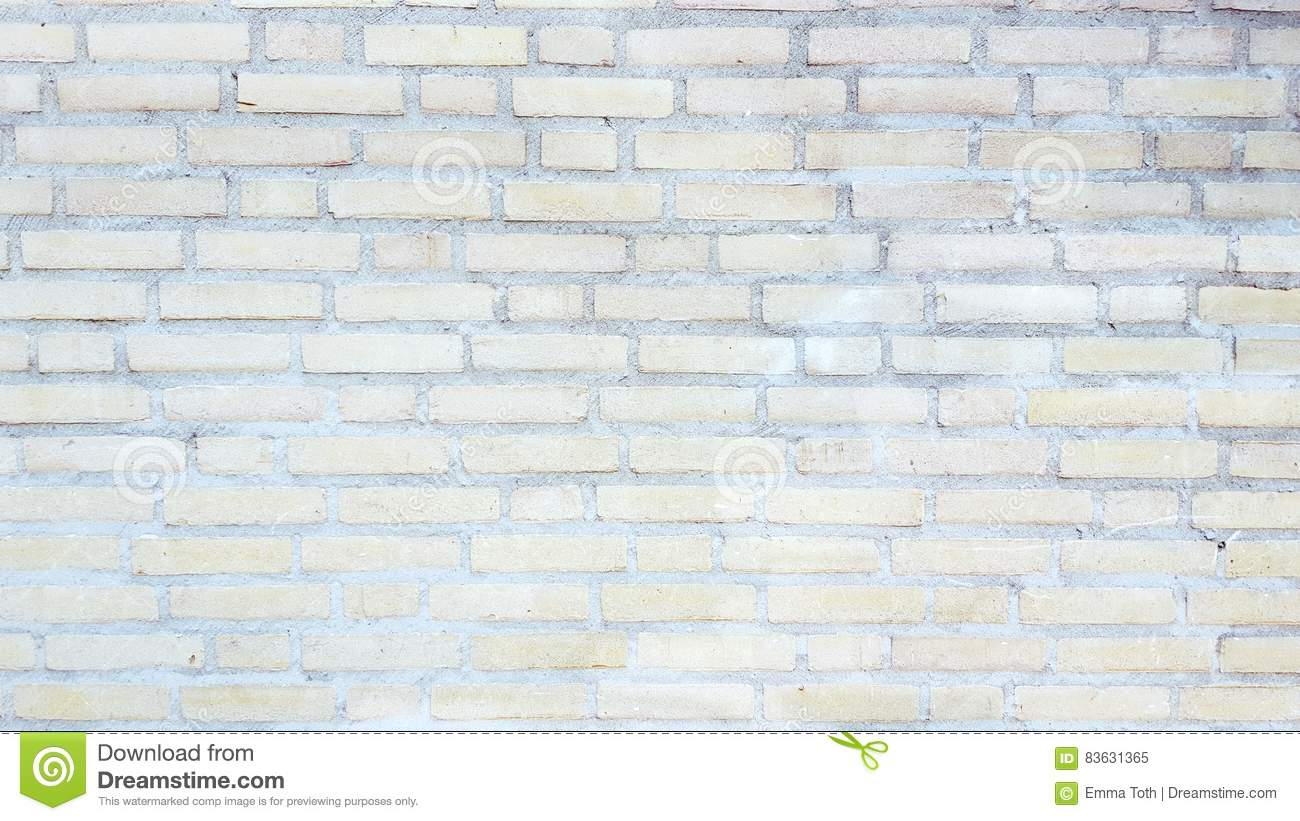 Pale Brick Wall