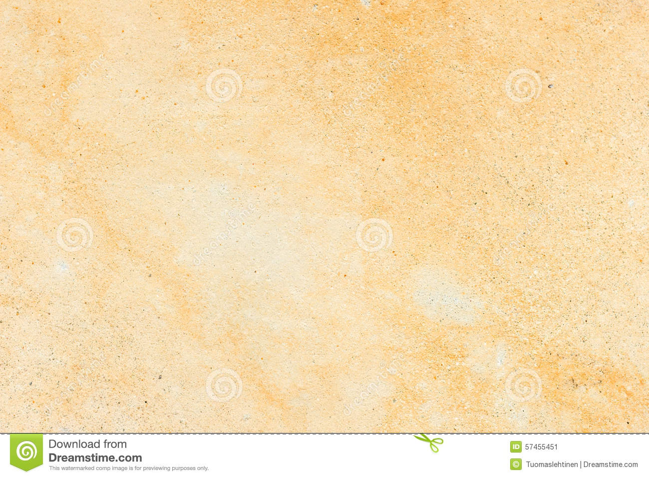 Pale Orange Concrete Wall Texture Background Stock Image