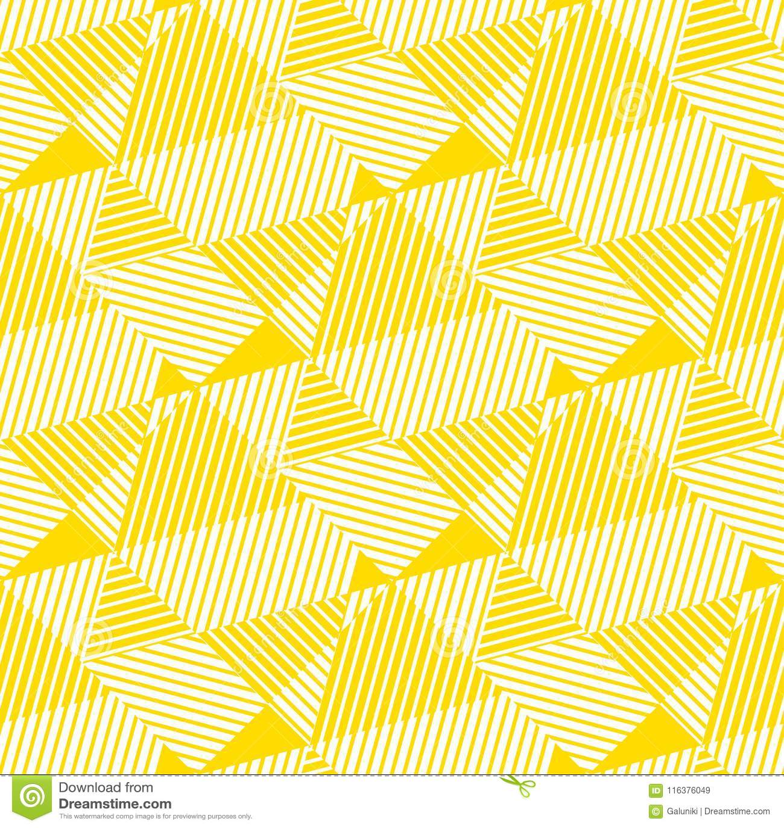 Pale Yellow Geometric Seamless Pattern. Stock Vector ...