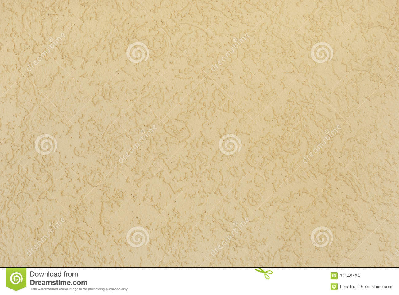 Pale Yellow Plastered Wall With A Pattern Stock Images ...