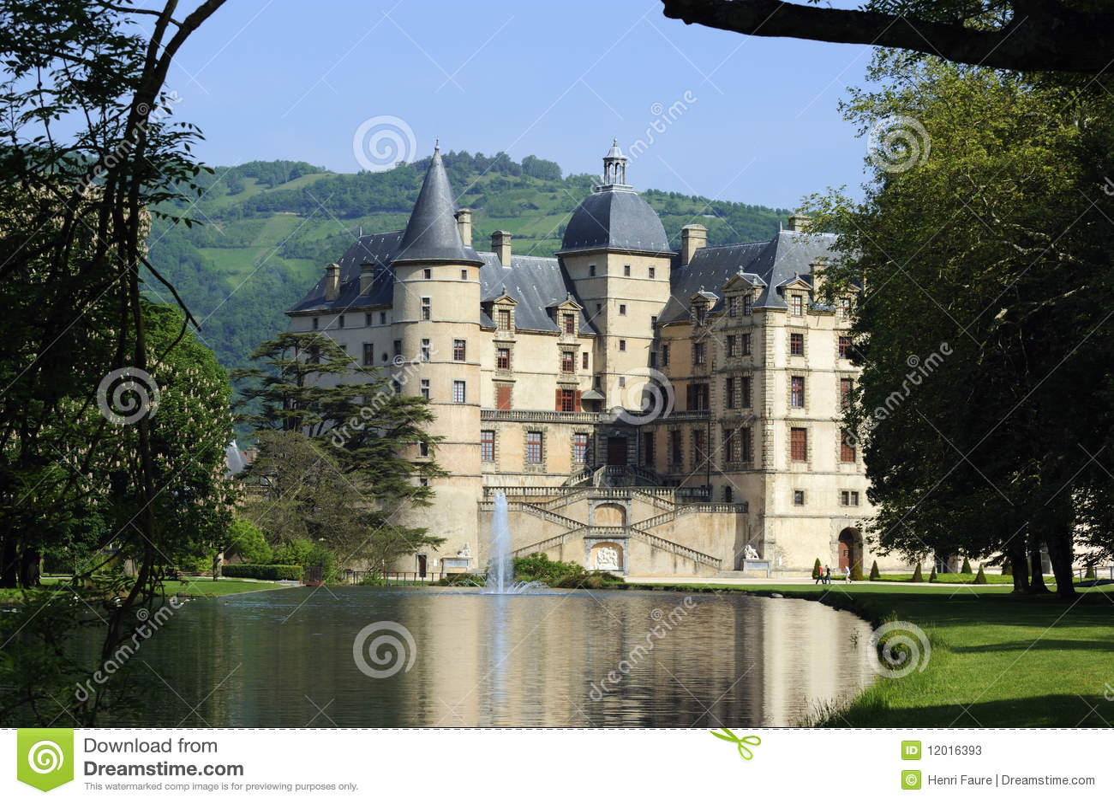 Paleis van Vizille. Frankrijk