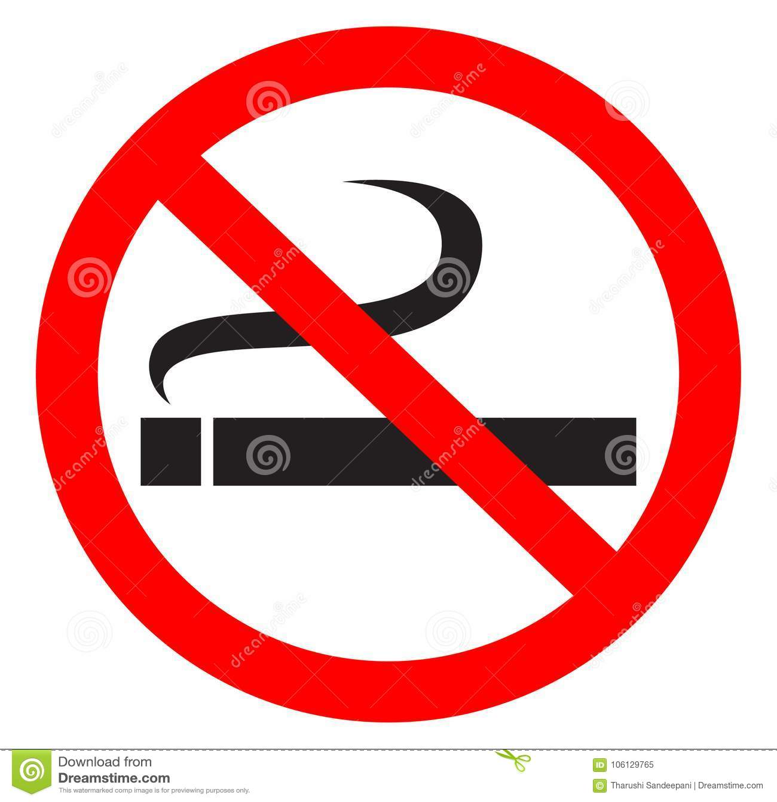 Palenie zabronione symbol